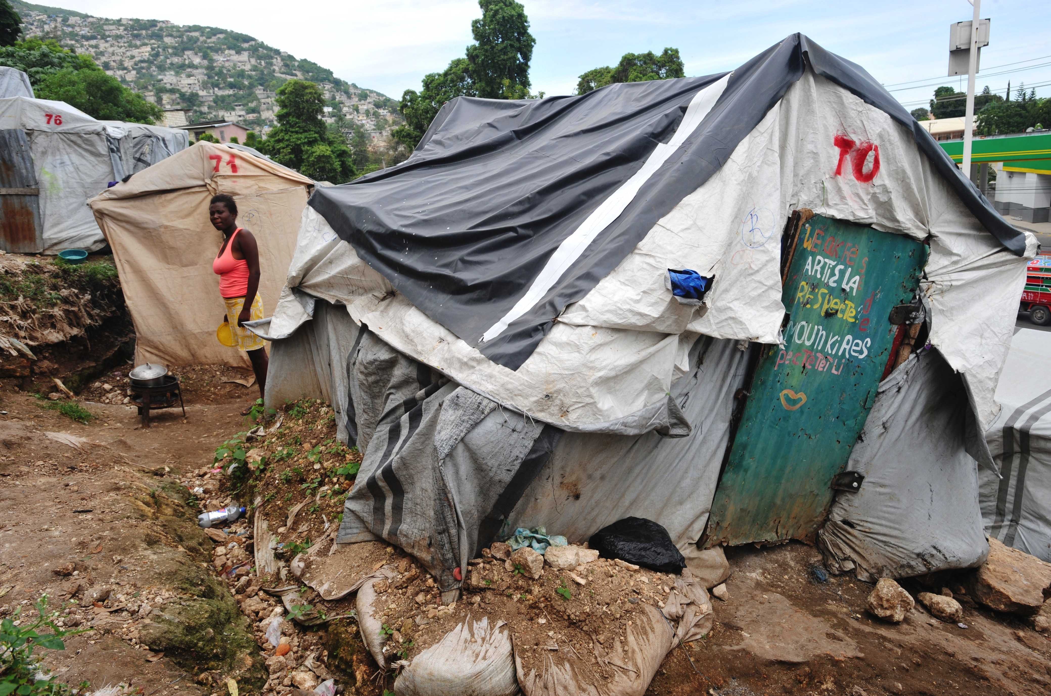 Why Are So Many Haitians Still Living In Tents? & Why Are So Many Haitians Still Living In Tents? « The Dish