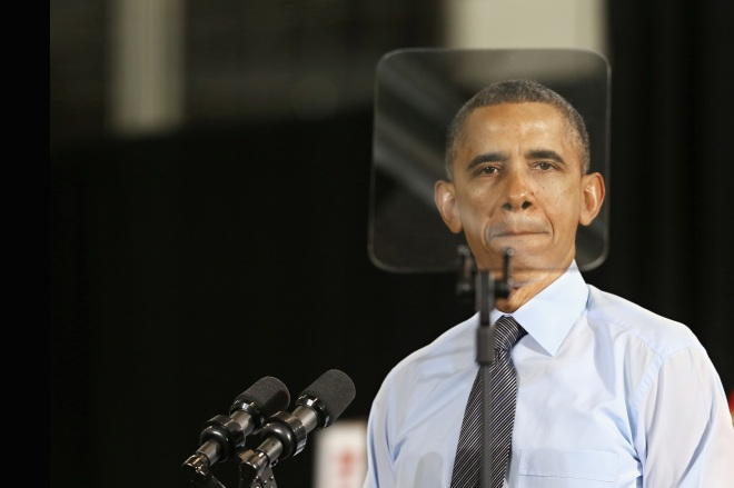 President Obama Delivers Economic Address At A Maryland Costco