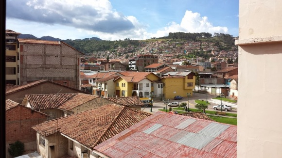 Cusco, Peru at 3-45pm