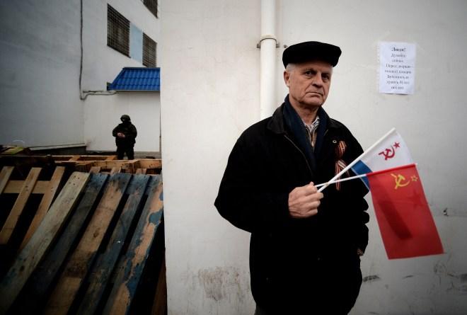 UKRAINE RUSSIA-UNREST-POLITICS-CRIMEA