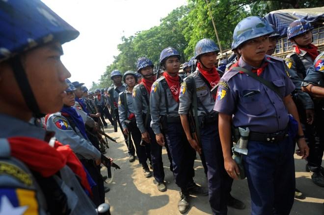 MYANMAR-POLITICS-CENSUS