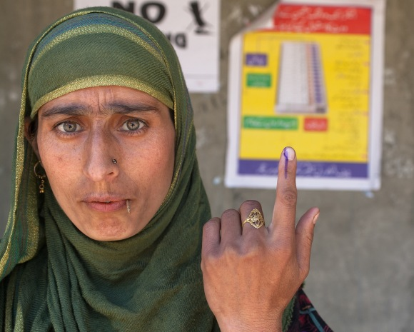 Poor Turnout On Indian Elections In Kashmir