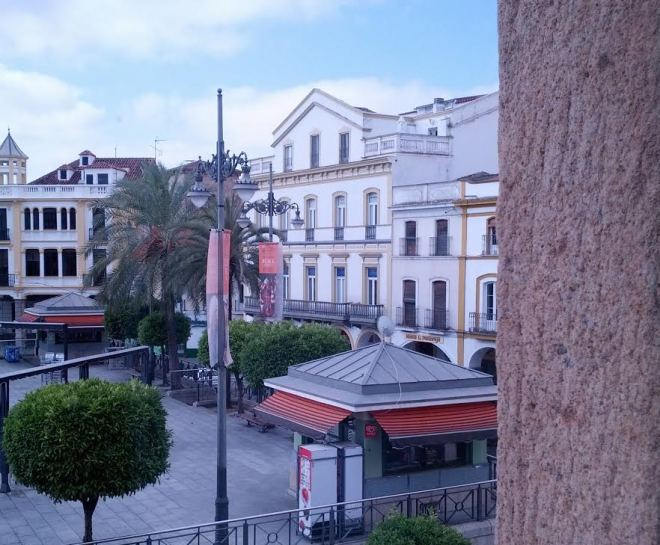 Mérida, Spain at 10-20 am