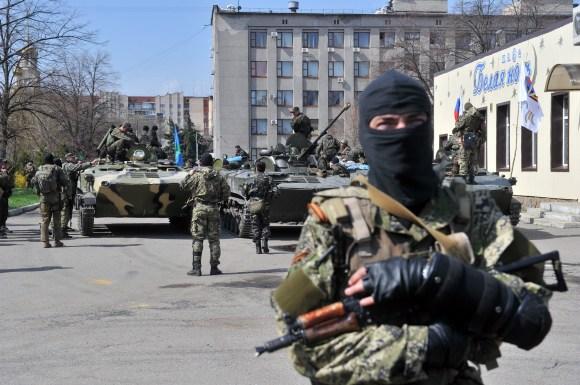UKRAINE-RUSSIA-CRISIS-POLITICS-SLAVYANSK