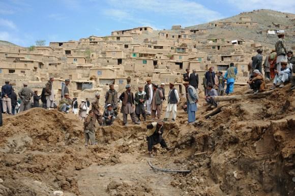 AFGHANISTAN-LANDSLIDE