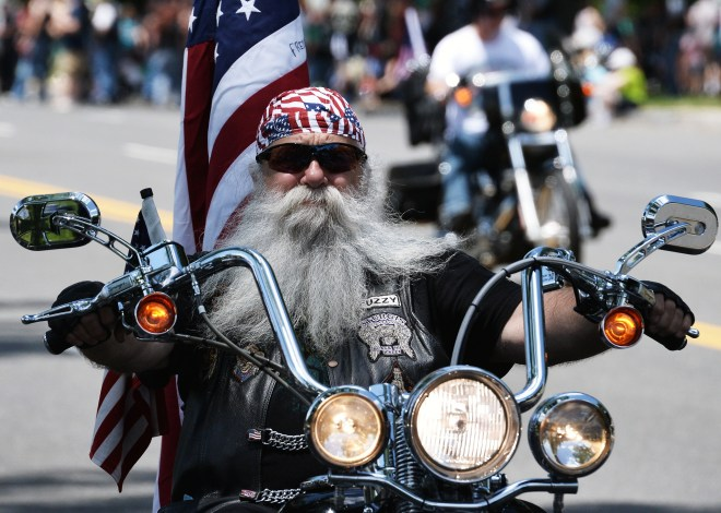 US - MILITARY - MEMORIAL DAY - ROLLING THUNDER
