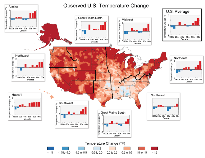 White House Climate Maps