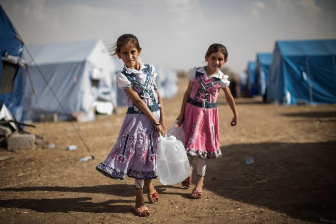 Refugees Flee Iraq After Recent Insugent Attacks