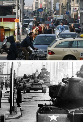 Berlin During The Cold War: Then And Now