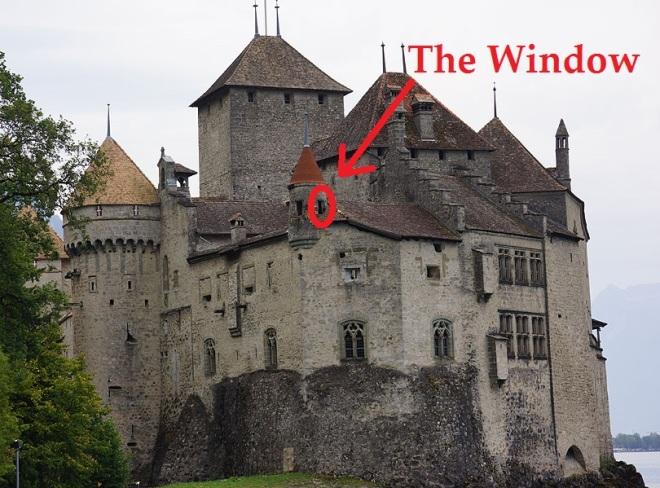 Chateau-de-Chillon Window