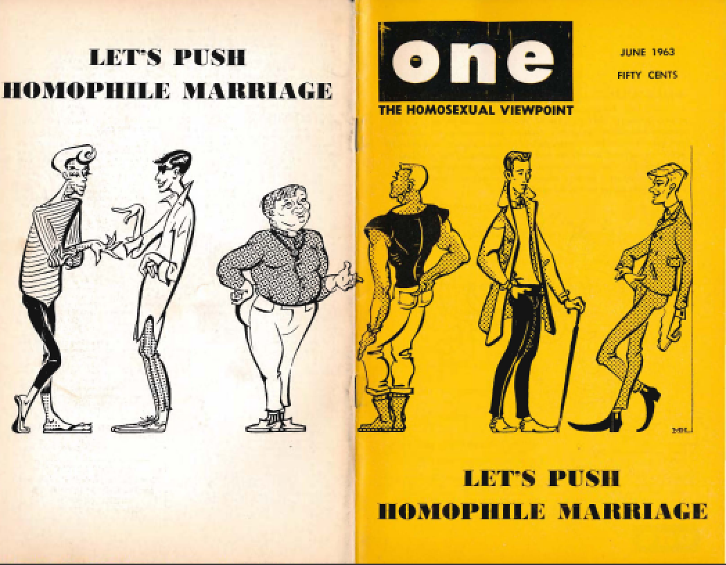 rights 1950s the gay in