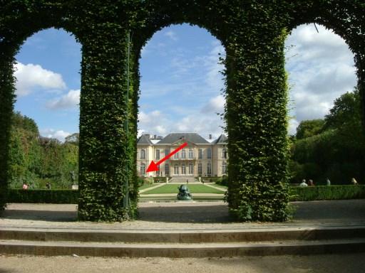 Paris_Musée_Rodin_Gartenaansicht