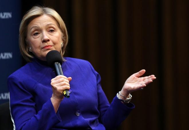 Hillary Rodham Clinton Book Presentation
