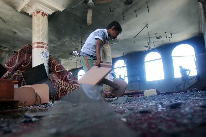 Israeli air strikes on Gaza