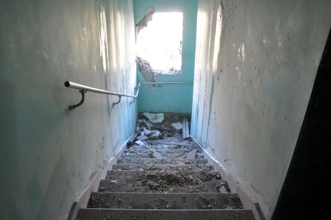 Gaza hospital strike by Israeli missiles