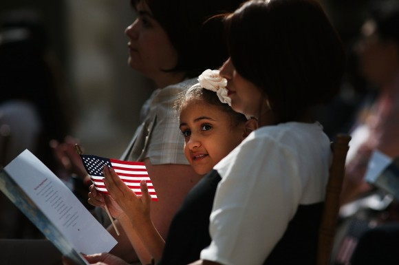 Naturalization Ceremony At Metropolitan Museum Of Art