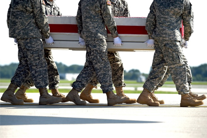 Remains Of Two-Star General Killed In Afghanistan Returned To US