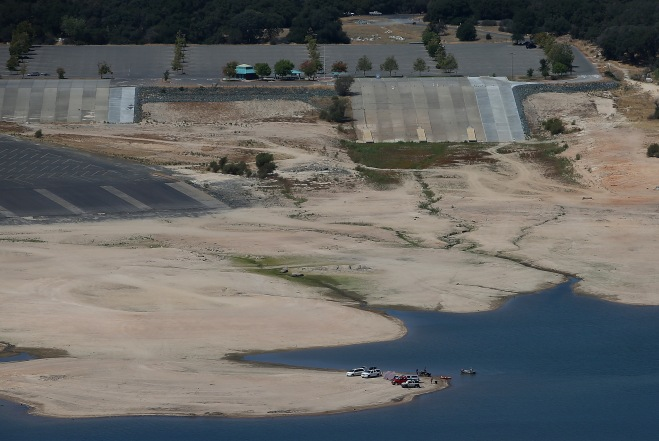 Statewide Drought Takes Toll On California's Lake Oroville Water Level