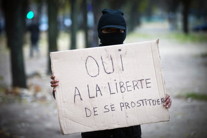 FRANCE -PROSTITUTION-POLITICS-LAW-RIGHTS
