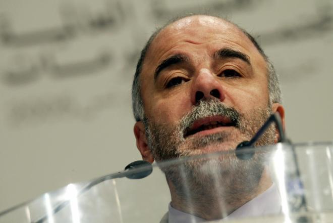 Iraqi Minister of Communication Haider a