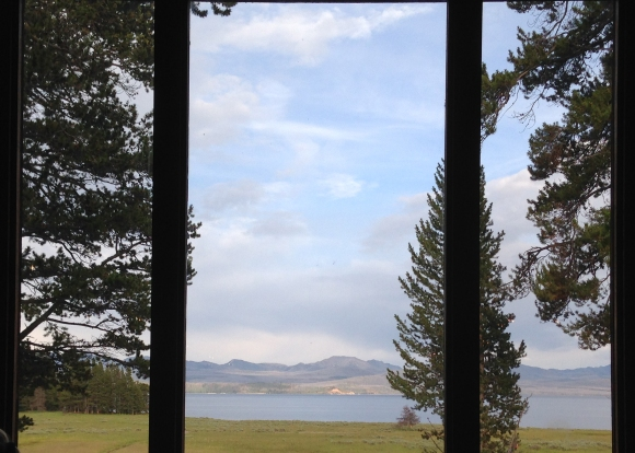 Lake Lodge, Yellowstone National Park, Wyoming. 716pm