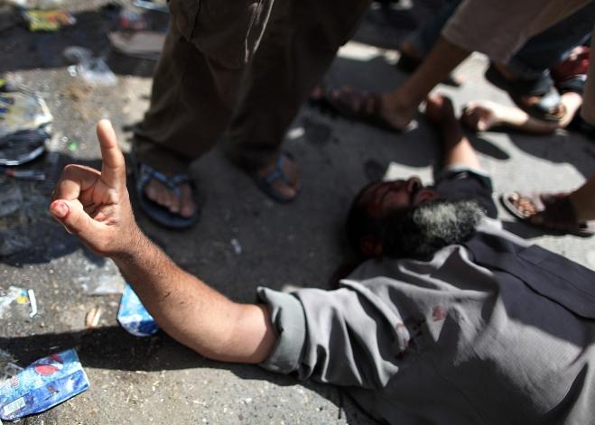 Palestinians killed in an Israeli attack on a UN-run school