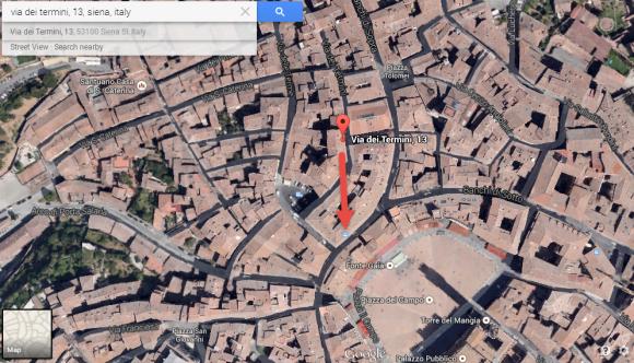 VFYW - Siena - Location on map