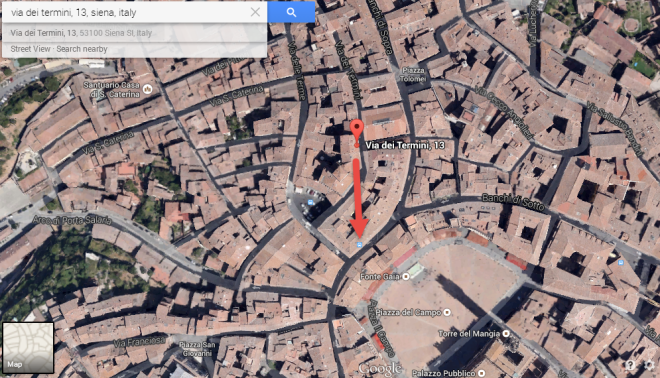 VFYW - Siena - Location on map