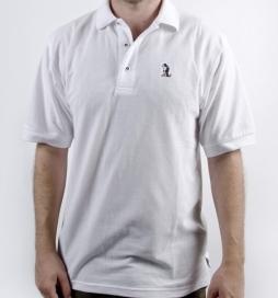 white-polo