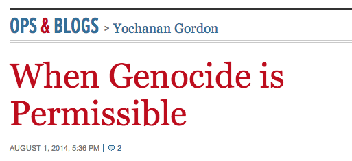 Yochanan gordon headline