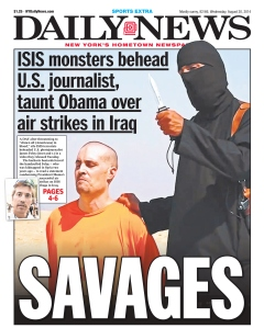 Daily News Front Page James Foley