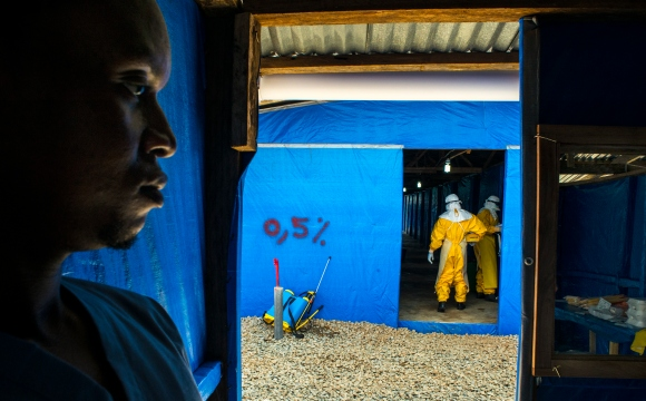 The West African country of Liberia is crippled by a recent outbreak of the Ebola virus.