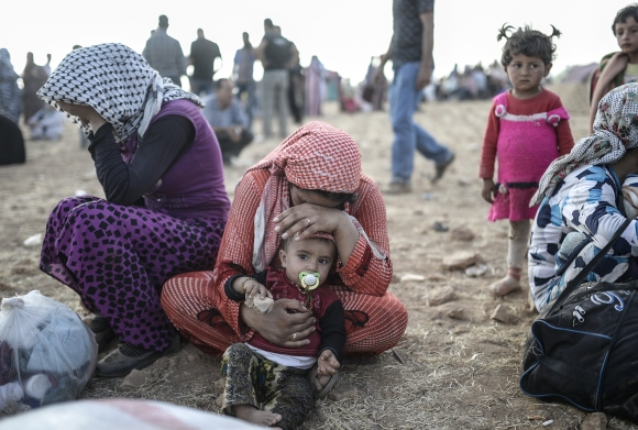 TURKEY-SYRIA-KURDS-REFUGEES