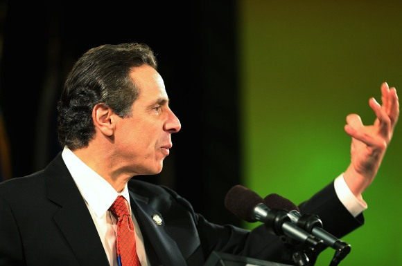 New York Governor Andrew Cuomo Gives Annual State Of State Address