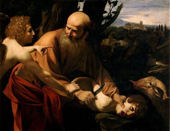 800px-Sacrifice_of_Isaac-Caravaggio_(Uffizi)