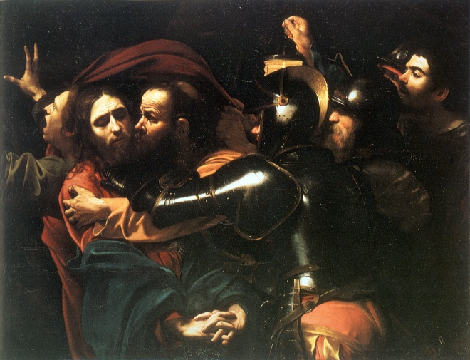 Caravaggio_-_Taking_of_Christ_-_Dublin_-_2