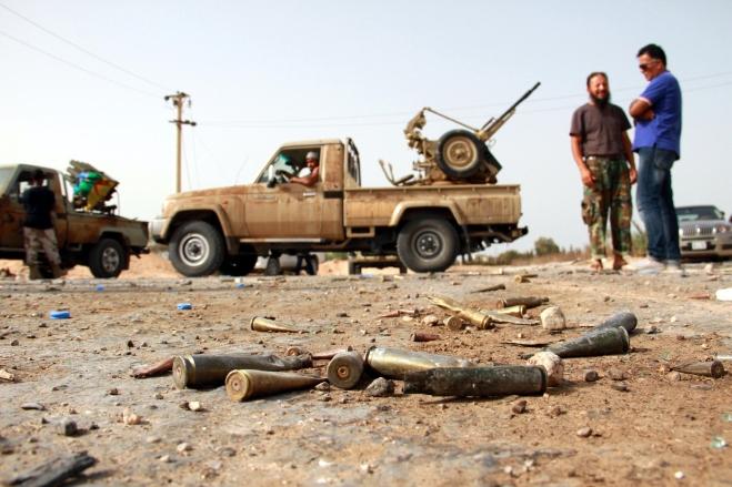 Sign of clashes near 27th Bridge of Tripoli
