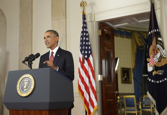 President Obama Addresses The Nation To Outline Strategy On ISIS