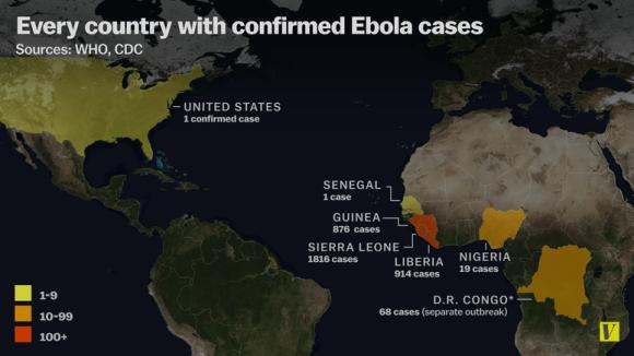 Ebola cases