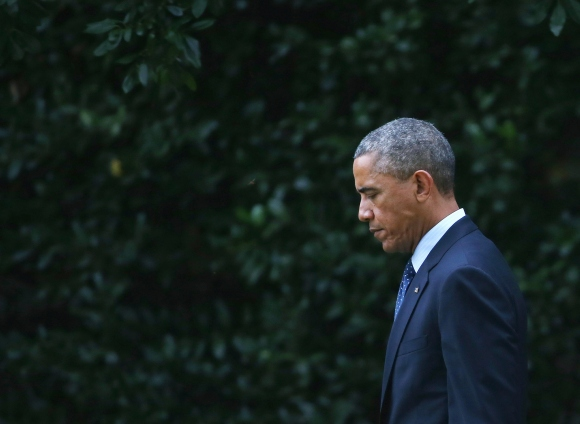 Obama Departs The White House En Route To New York