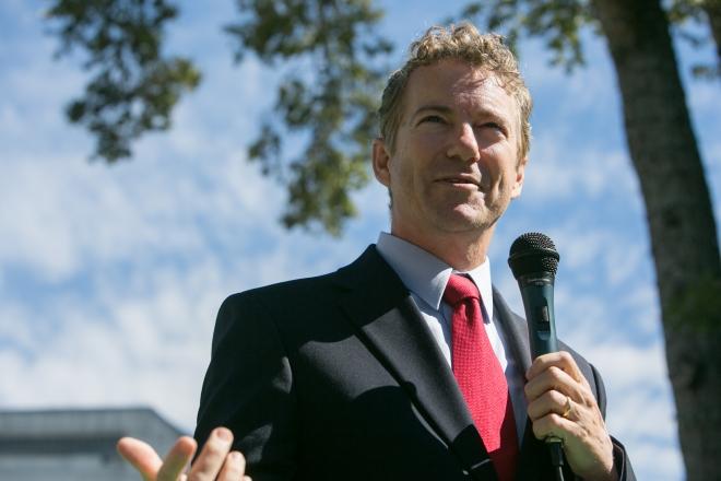 Georgia Senate Candidate David Perdue Campaigns With Sen. Rand Paul (R-KY)