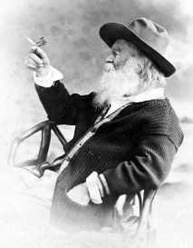 Whitman_with_butterfly
