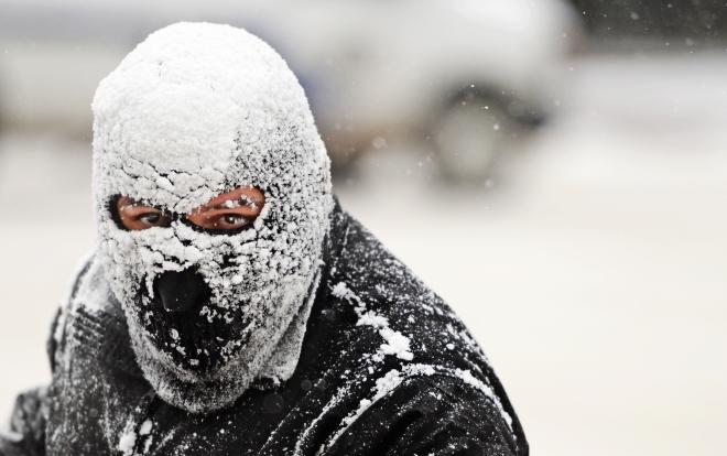Cold temperatures and snow in Colorado