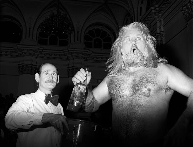 British wrestling, 1988.