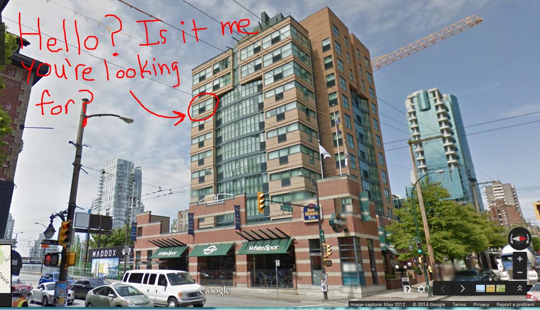 Best Western Hotel Vancouver Drake Street