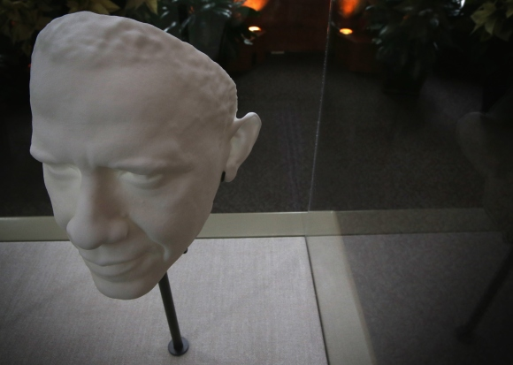 3-D Portrait Of President Obama On Display At The Smithsonian