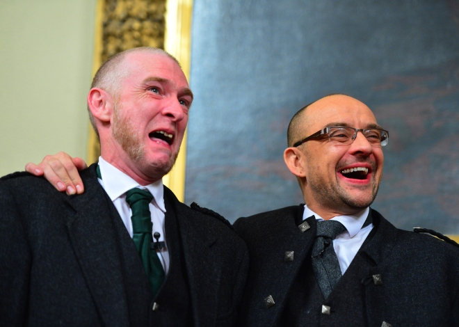Scotland's First Same-Sex Marriage Ceremonies