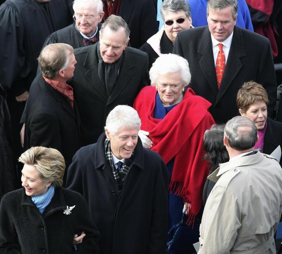 Former US President George H.W. Bush(2nd