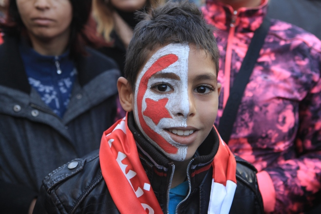 Tunisia celebrates the 4th Anniversary of Revolution