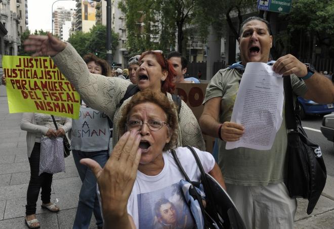 ARGENTINA-ISRAEL-IRAN-AMIA-ATTACK-JEWS-PROSECUTOR-NISMAN-DEMO